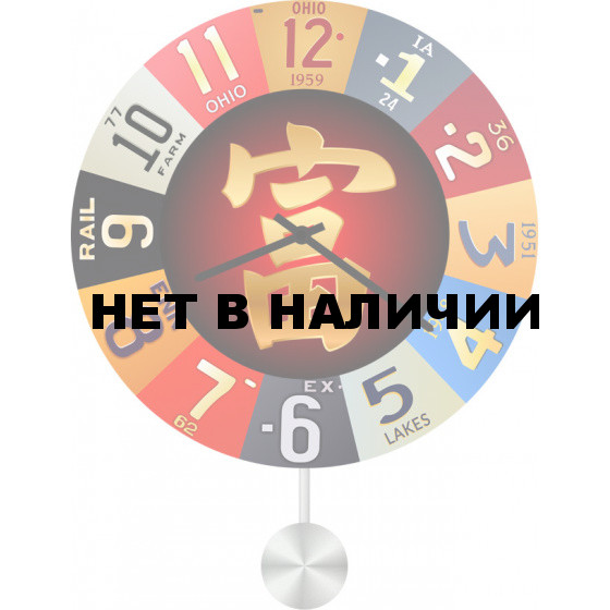 Настенные часы SvS 3512931