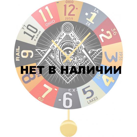 Настенные часы SvS 5012943
