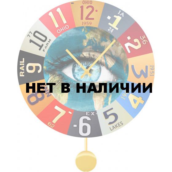 Настенные часы SvS 5512935