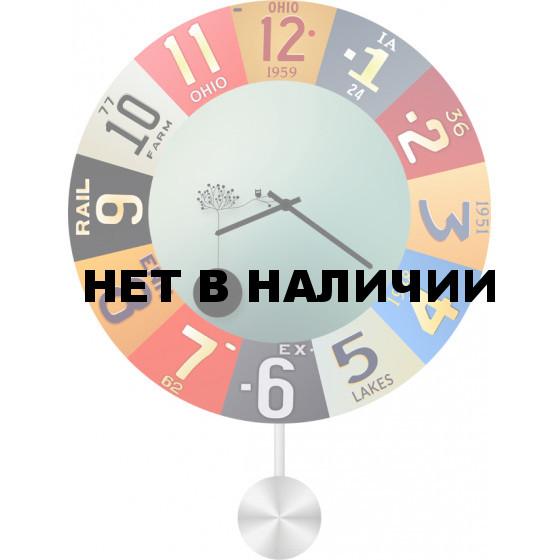 Настенные часы SvS 5512945