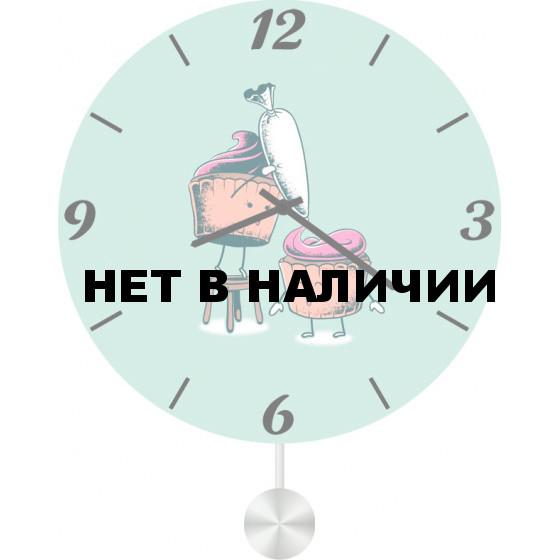 Настенные часы SvS 6012738
