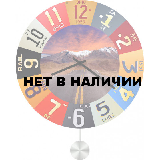 Настенные часы SvS 6012934
