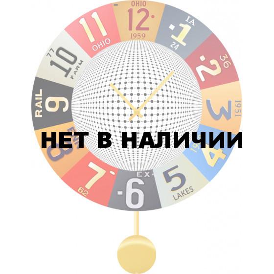 Настенные часы SvS 6012937