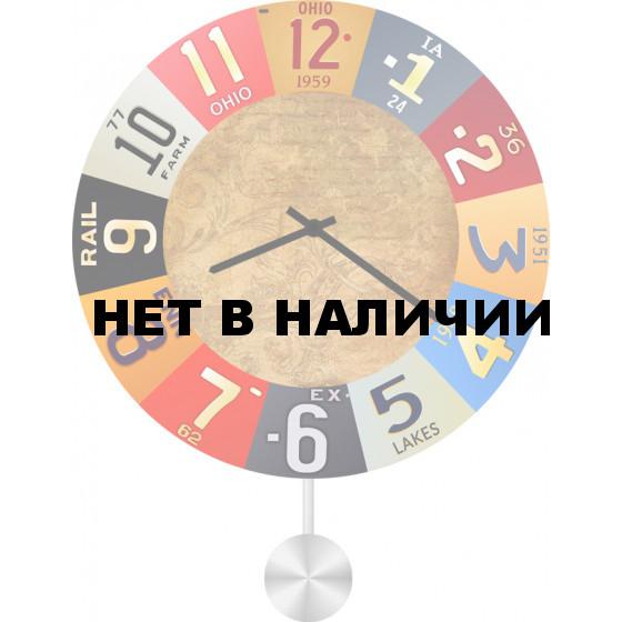 Настенные часы SvS 6012950