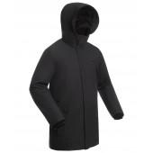 Пальто утепленное мужское BASK MARS черное
