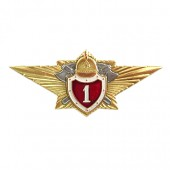 Нагрудный знак МЧС Специалист 1 класса металл