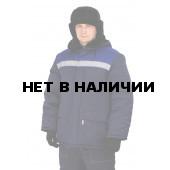 Куртка зимняя СТАНДАРТ цвет: темно-синий/василек