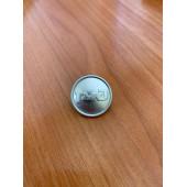 Пуговица РЖД диам. 22мм нового образца матовые металл