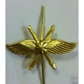 Эмблема петличная ВКС повседневная металл