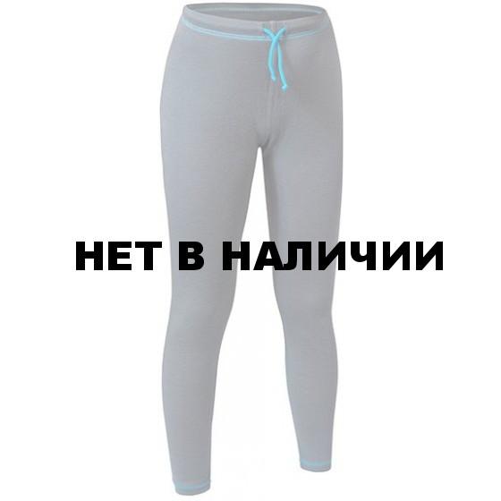 БРЮКИ ДЕТСКИЕ MERINO WOOL KIDS PANTS СЕРЫЙ/БИРЮЗА 28/110