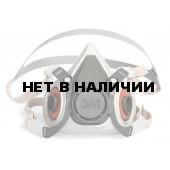 Полумаска 6300 (серии 6000 3М размер L)