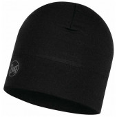 Шапка Buff Midweight Merino Wool Hat Solid Black (US:one size)118006.999.10.00