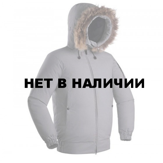 КУРТКА ПУХ YGRA СЕРЫЙ ТМН L