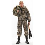 Костюм ТУРИСТ 1 куртка/брюки цвет:, камуфляж Камыш, ткань : Грета