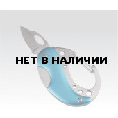 Карабин - мини-нож, синий (упак=10 шт), 2517