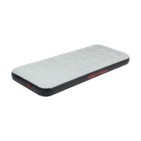 Матрац надувной Air bed Single серый/тёмно-серый, 185 x 74 x 20 см, 40085