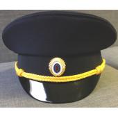 Фуражка Полиция нового образца офисная габардин