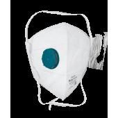 Респиратор Rutex® V2107 FFP2 NR D вертикальный с клапаном