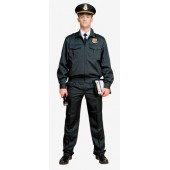 Костюм для охраны мужской матовая смесовая 1208