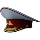 Фуражка генерал ФСИН парадная модельная метанит