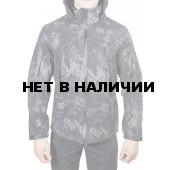 Куртка с капюшоном МПА-26 (ткань софтшелл), камуфляж питон ночь