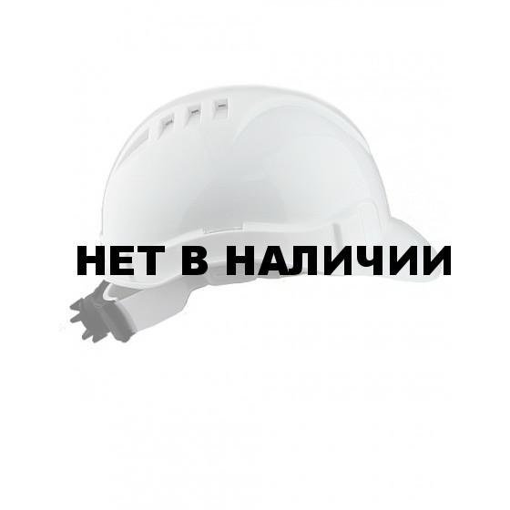 Каска промышленная Европа-Люкс оранжевая (храповик)