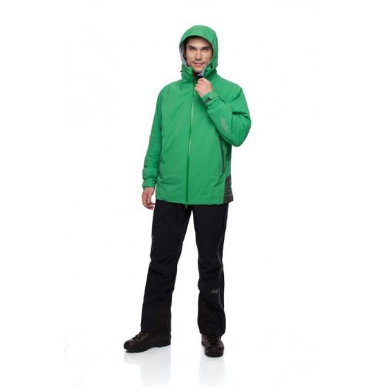 Мембранная куртка BASK GRAPHITE GELANOTS зеленая