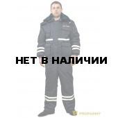 Костюм зимний ДПС таслан иссиня-черный