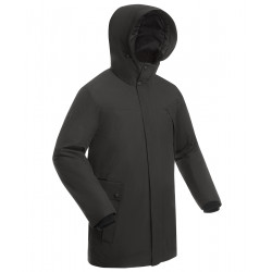 Пальто утепленное мужское BASK MARS серый тмн