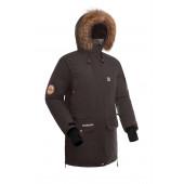 Куртка пуховая BASK IREMEL SOFT коричневая