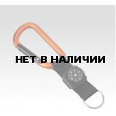 Брелок Карабин 8мм со стропой и компа (упак=10 шт), 3228