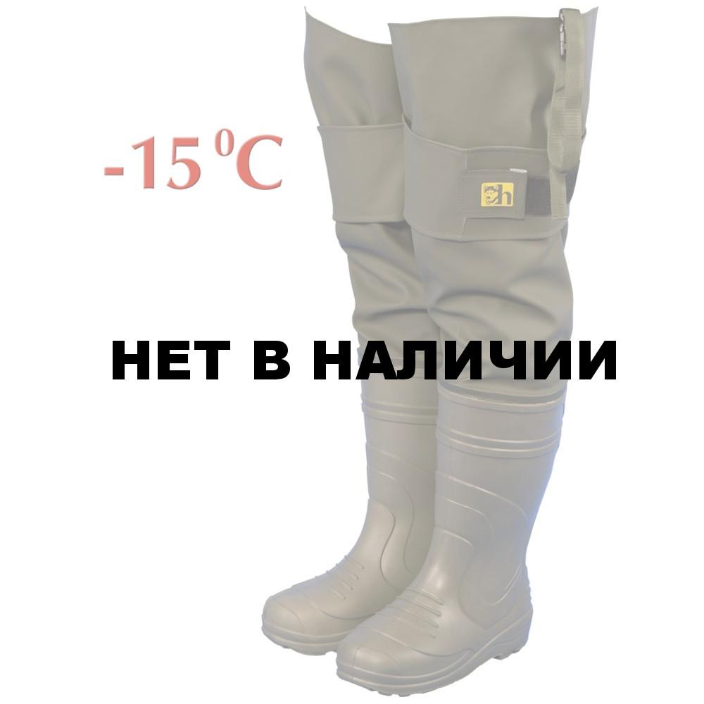 756fc9bc Сапоги рыбацкие мужские Haski-light(ЭВА) С095(-15С) олива(винитол ...