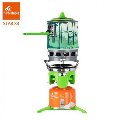 Система приготовления пищи STAR X3 Зелёный, STAR X3