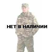 """Флисовая мужская куртка """"Gerkon Picnic"""", камуфляж цвет """"Мультикам"""""""