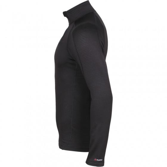 Термобелье футболка L/S Active Polartec Thermal Grid черная