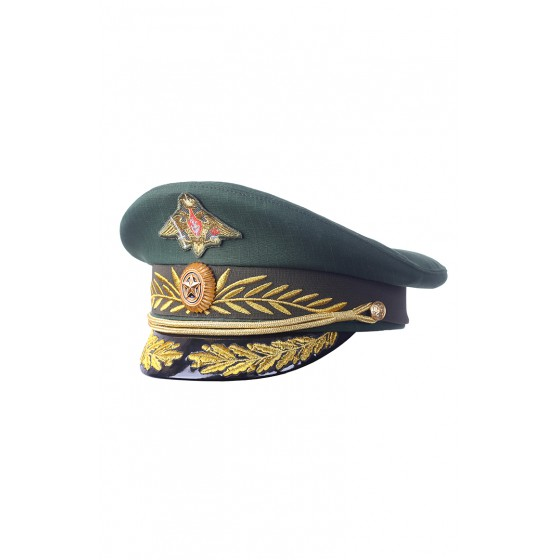 Фуражка повседневная для генералов смесовая Рип-Стоп 1014