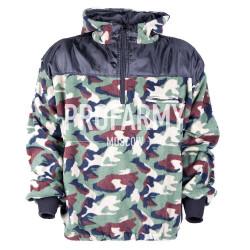 Куртка флис Woodland анорак