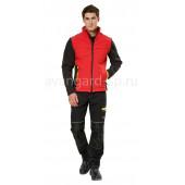 Куртка софтшелл Тайм цвет черно-красный