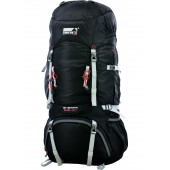 Рюкзак Sherpa 65+10 черный, 65+10л, 2040 гр, 31106