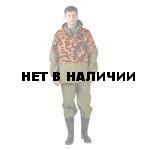 Костюм противоэнцефалитный ХАКИ/ОРАНЖЕВЫЙ, камуфляж, ткань палатка/грета