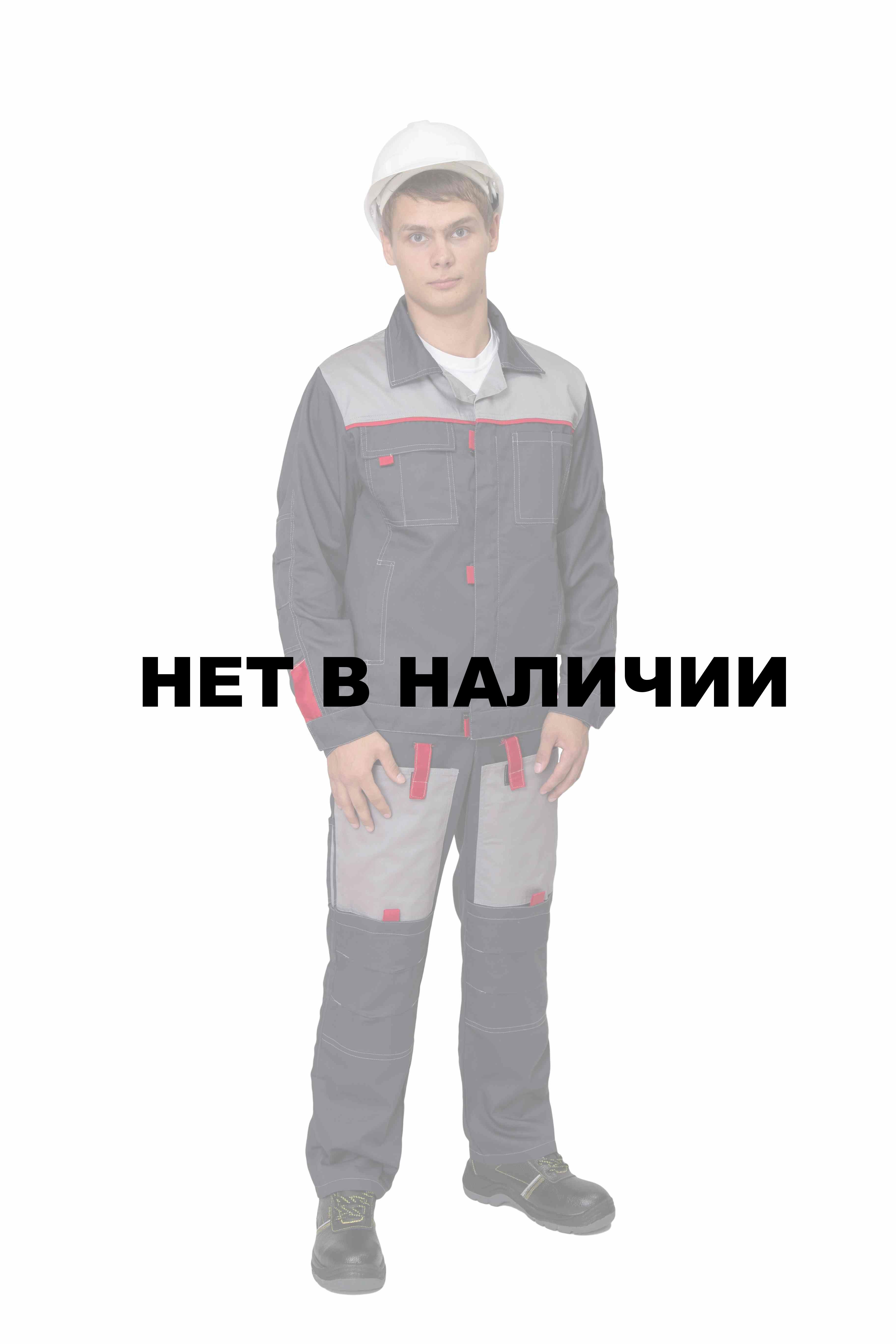f20ef889cbfe Костюм мужской Фаворит-2 летний с полукомбинезоном темно-серый/светло-серый/