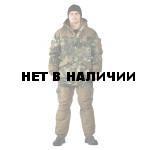 Костюм зимний ГЕРКОН куртка/брюки, камуфляж мох/бежевый, ткань : Алова/Канада