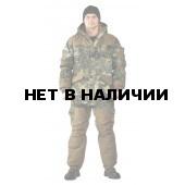 Костюм демисезонный ГРАСК-ВЕСНА/ОСЕНЬ куртка/полукомбинезон, камуфляж Мох/бежевый, ткань Алова/Канада