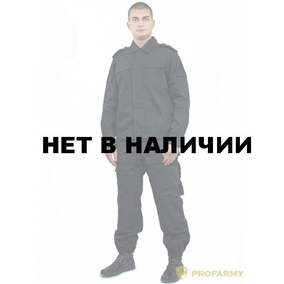 Костюм Склон (модель Спецназ) рип-стоп черный