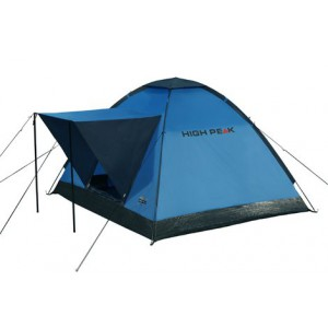 Палатка Beaver 3 синий/серый, 200х180 см, 10167