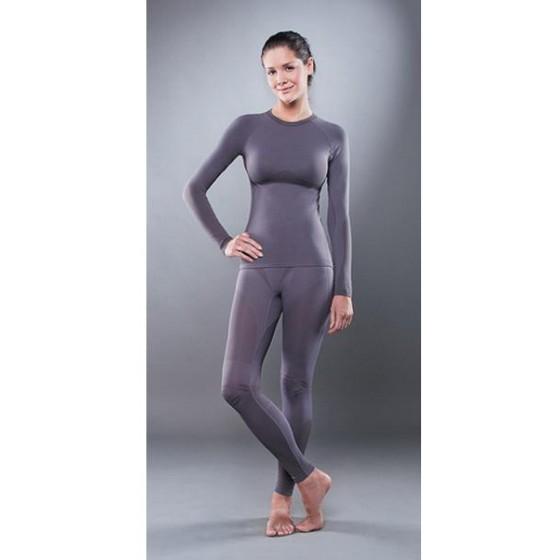 Комплект женского термобелья Guahoo: рубашка + лосины (531 S-GY / 531 P-GY)