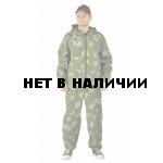 Костюм МАСКХАЛАТ куртка/брюки, камуфляж Граница зеленый, ткань : Сорочечная