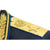 Погоны ФСБ генерал армии парадные на китель золото