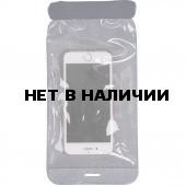 Гермочехол для смартфона и документов ПВХ трикотаж темно-синий
