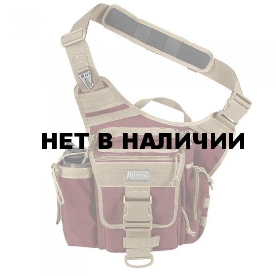 Сумка Maxpedition Jumbo Versipack maroon-khaki